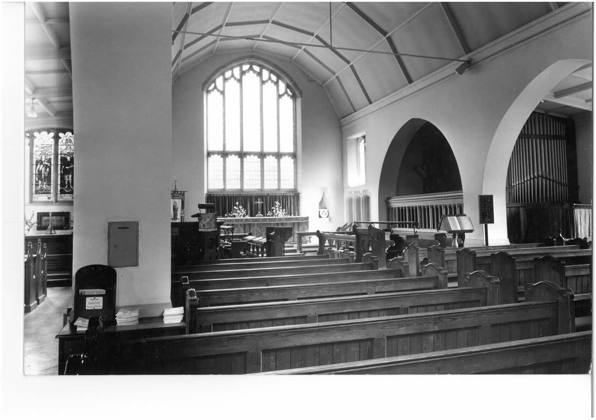 pre 1969 North End Chancel