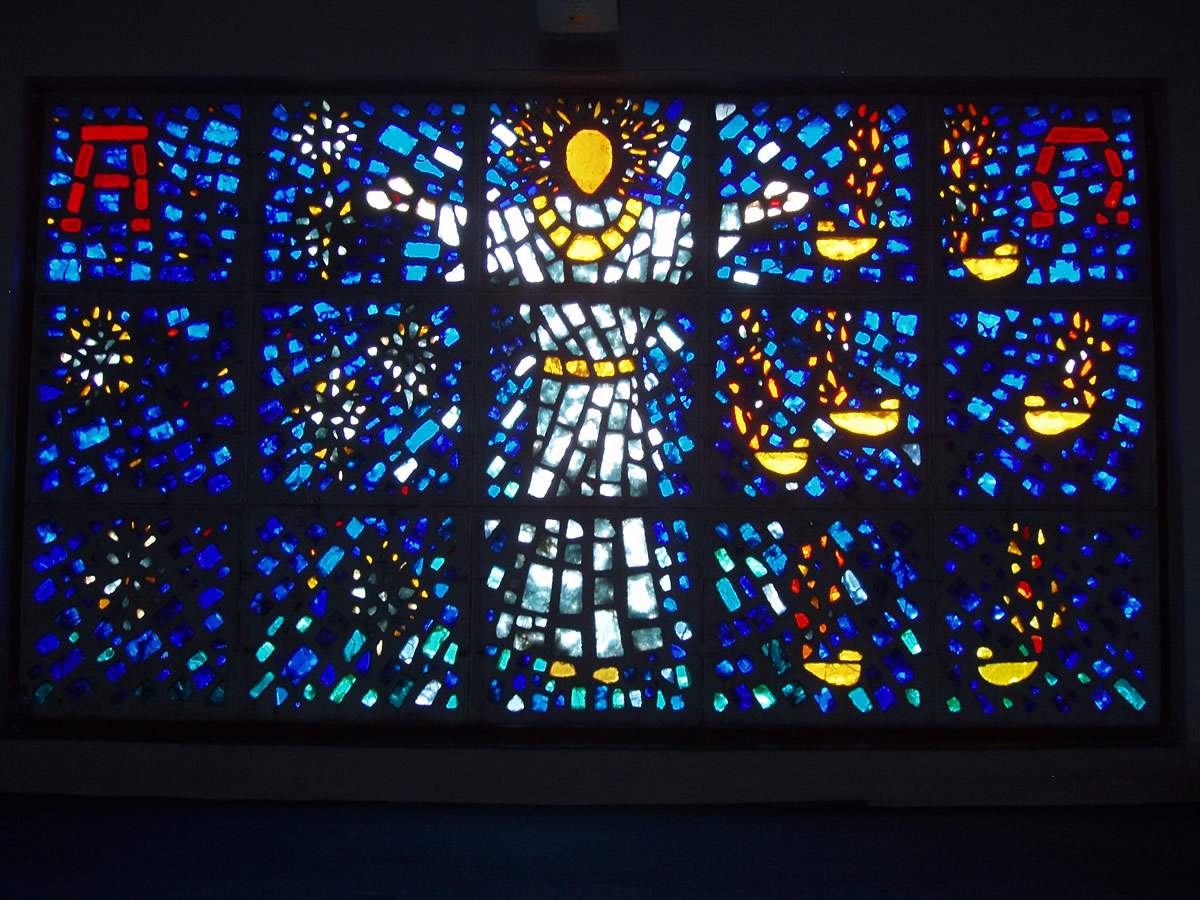 St Aldhelm's window 2009